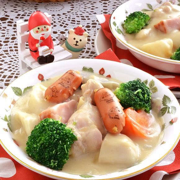 冬野菜、根菜の豆乳くりーむしちゅ~