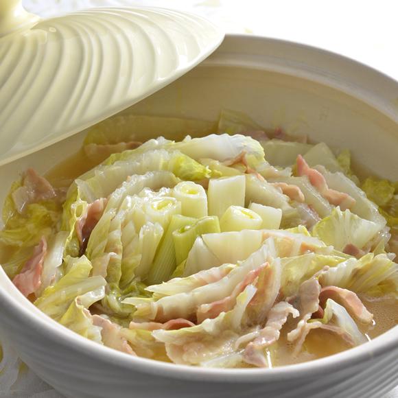 チーズがとろ~ん♪白菜の洋風重ね鍋