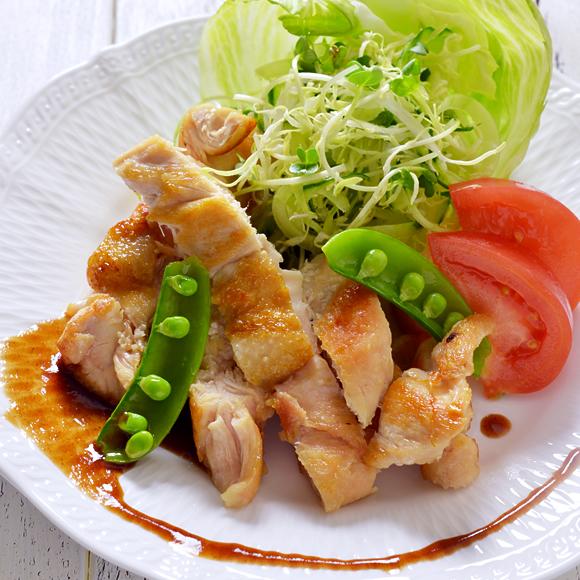 鶏ムネ肉のやわらかチキンステーキ