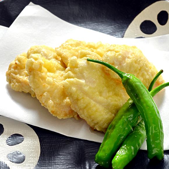 鶏むね肉のやわらか天ぷら