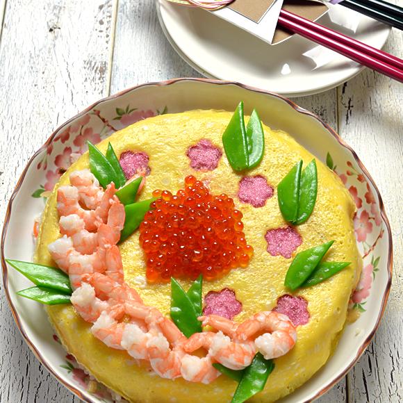 おひな祭りにどうぞ!簡単ケーキすし