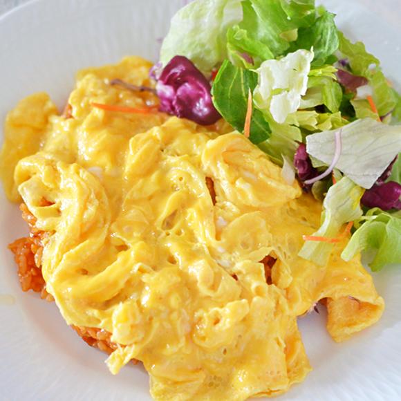 洋食屋さん風とろとろ卵のオムライス