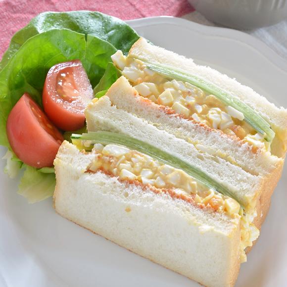たっぷり玉子のサンドイッチ