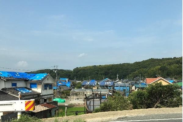 岡山県倉敷市内の様子(8/29撮影)